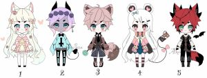 Random Batch adoptables CLOSED by AS-Adoptables
