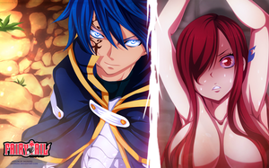 erza and Jellal - Fairy Tail 365 by salim202