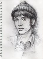 Mike Nesmith of The Monkees by SanFerryAnne