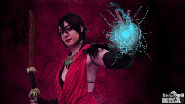 Fun with Photos - Morrigan by MrJechgo