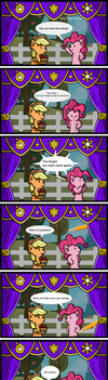 Pony Puppet Theater #11 Cutie Marked Absent by MangaMeister