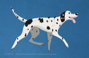 Dalmatian by IllegalHamsterThe