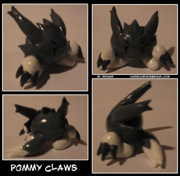 Pommy Claws figurine by Spring-the-Rabbit