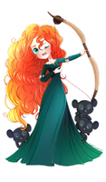 ::Disney Dreamies:: - Merida - by MissElysium