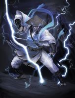 Lord Raiden aka Raijin by molee