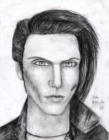 Andy Biersack by MoonlitViolins