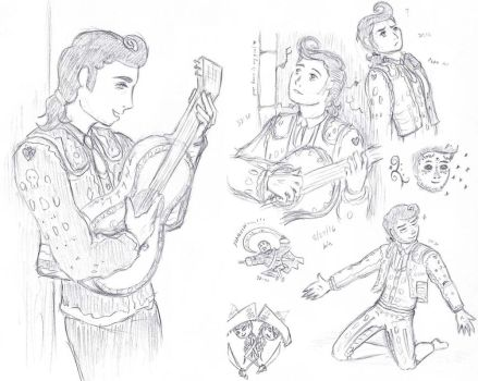 Book of Life Sketch Dump by just-Kinshi