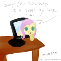 Oh, sorry, you look busy by THEshortperson