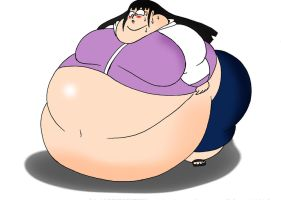 COM Obese Hinata after time skip by Robot001