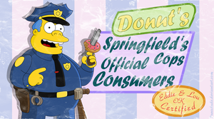 Wiggum's Donuts by punxdude