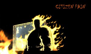 Wall Paper - Citizen Pain by Divided-Chaos