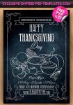 Happy Thanksgiving Free PSD Flyer Template 2015 by free-psd-templates