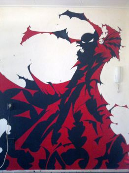 Spawn Wallpainting by Xpendable