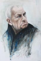Portrait of old man by Galadiera
