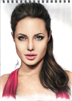 portait drawing media new art arts amazing love dr by CansuVURAL