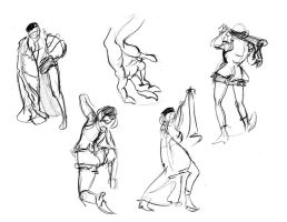 Figure Drawing Book Semester 2 page 3 by 24movements