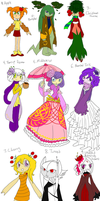 Seedrian Adopt 3- various and shadow - CLOSED! by HezuNeutral