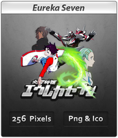 Eureka Seven - Anime Icon by DevilL-Dante
