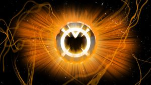 Orange Lantern Corps Wallpaper by Asabru88