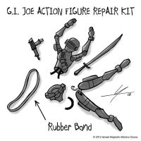G.I. Joe Action Figure Repair Kit by IAMO76