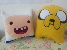 Handmade Adventure Time Cartoon Jake and Finn Set by RbitencourtUSA