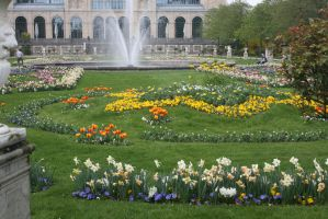 view in Flora Garden cologne today by ingeline-art
