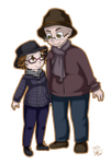 Commission 3/3 - Chibis by IneMiSol