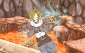 Day 1 - League of Legends Ezreal by human-failure
