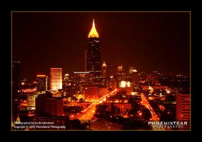 Atlanta Nightlife by Phoenixtear
