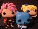 Fairy Tail Funkopops  by eternalview