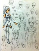 Sketchbook Stuff #3 - Adult Weiss Schnee by RKS-Kogiro