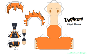 Template - Haikyuu - Shouyou Hinata by Verloria