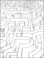 Endless Maze by violetice