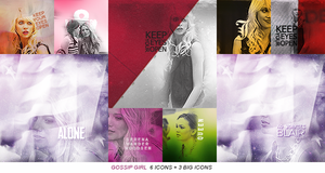 6 icons + 3 big icons | Gossip Girl by rousvisuals