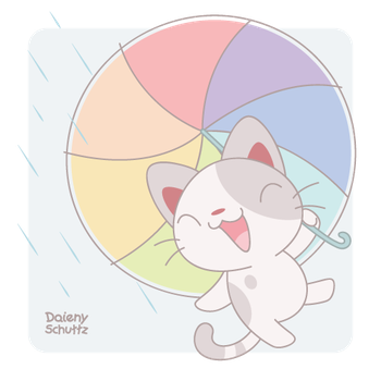 Dancing in the Rain by Daieny