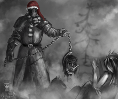 Merry Christmas from The Beast! by MrElagan
