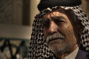 Old man in Najaf by Anmar-Studio