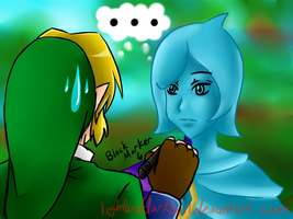 LoZ: SS- Fi needs Eyes by LightDarkSoul
