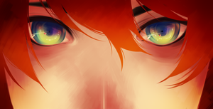 + In those eyes + by taka-maple