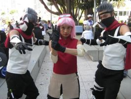 Kakashi ANBU Sakura Cosplay by ShipperTrish