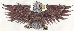 eagle tattoo design by Genocide-Al