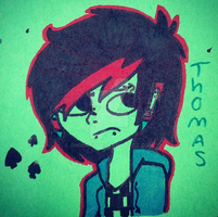 Thomas' Old Design by NotTheWitch