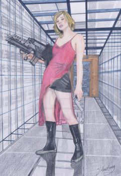 resident evil alice 2 by stephantom53