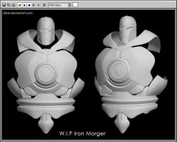 WIP Iron Morger Wire02 by D3r3x