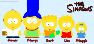 Simpson - south park by cookie-lalala