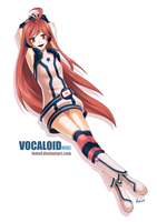 Vocaloid - Miki by leinef