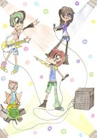 Phineas and the Ferb rockers. by Pinky1babe