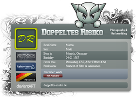 My New ID Card by DoppeltesRisiko