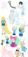 Sketchduuuump by GiraffeWizardry