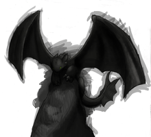messing with PS: NightFury by warlemur